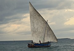 """Now We're Sailing!"" (The Spirit of the World) Tags: boat sailboat dhow zanzibar africa tanzania eastafrica ocean sea indianocean water seascape waterscape"