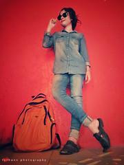 In Frame- Labonno (Farhan Alvee) Tags: portrait portraitdhaka farhansphotography fashionbd fashion fashionphotographybangladesh2017 bd2017 bangladesh labonnobdmodel labonnopanda creativephotography studio fashionphotography womenportrait red redbackground xiaominote4x xiaomi xiaomigraphy xiaomiphotography