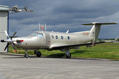 LX-JFJ (GH@BHD) Tags: lxjfj pilatus pc12 pcxii jetfly jetflyaviation boh bournemouthairport turboprop bizjet corporate executive aviation aircraft
