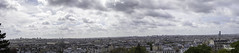 Paris Pano From Montmartre (Lonely Soul Design) Tags: paris panorama high resolution montmartre sky clouds landscape cityscape canon