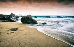 Parghelia (Giuseppe Tripodi) Tags: landscape paesaggio beach coast longexposure longexposition rocks sea mare sunscape spiaggia allaperto outdoor nature calabria italia italy