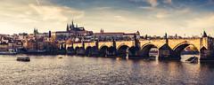 Charles Bridge (czajkowski.marcin) Tags: prague charlesbridge sky fuji xt2 fuji1855 czech republic panorama