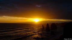 The Twelve Apostles (Prishan De Silva) Tags: australia victoria apostles greatoceanroad sunset sea sun colours clouds beautiful sublime