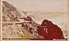 Beach Drive from the Cliff House leading to The Seal Rock House and Ocean Beach Pavillion, 1890's (dougsf) Tags: san francisco cliff house ocean beach taber seal rock pavillion