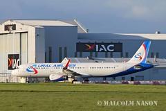 A321-231 EI-FXS URAL AIRLINES (shanairpic) Tags: jetairliner a321 airbusa321 shannon iac eirtech irish uralairlines eifxs