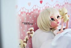 """It's a perfect day to stay at home, right Kimmi?"" (·Yuffie Kisaragi·) Tags: doll pullip mio kit custom yuzuaesthetics kimmi obitsu rewigged rechipped rilakkuma korilakkuma revoltech"