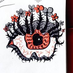 My eyes hurt. I see like this. And my eyelashes have their own eyelashes, apparently (borianag) Tags: inkillustration inkdrawing ink art draw drawing doodling doodles doodle sketches sketch illustrations illustration eyes eye ifttt instagram