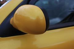 Liquid Yellow NS Mirror Scuff 3 (AcidicDavey) Tags: liquid yellow renault clio 182