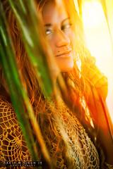 Idelia Mars -Behind Palms - Crandon Park Beach, FL (dsinghjr) Tags: 2011 canon davidmsinghjr davidsingh eos friends ideliamars miami miamidade modeling palm palmtree people photoretouching photography plant retouching florida unitedstates 60d