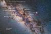 Scorpius, Sagittarius and the Galactic Centre, with Labels (Amazing Sky Photography) Tags: sagittarius scorpius galacticcentre galacticcore darkhorse pipenebula milkyway saturn starcloud m24 lagoon cat'spaw falsecomet rhoophiuchi m22 messier m17 australia coonabarabran tibucgardens teapot coronaaustralis fieldofnothing alberta canada