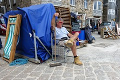 Deckchairs for hire (theo_vermeulen) Tags: cornwall stives