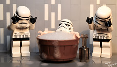 """I do what I want."" (RagingPhotography) Tags: lego death star wars minifigures minifig stormtrooper galactic empire imperial galaxy humor funny laugh ragingphotography"