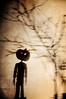 Pumpkinhead 2 (Mark_Dangerous) Tags: pumpkinhead movie shadow silhouette scary horror witch woods forest ed photography paper cutouts
