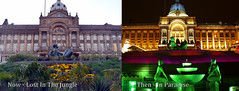 Now and Then, Floozy in Jacuzzi ( photos 2017 & 2013) (Manoo Mistry) Tags: birmingham uk victoria square central floozy plants council house fountains birminghamcouncilhouse floozyinjacuzzi midlands outdoor nightscene night