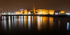 Liverpool Docks and warehouses (Joe Dunckley) Tags: albertdock canningdock liverpooldocks architecture building dock ferriswheel harbour pumphouse reflection warehouse water