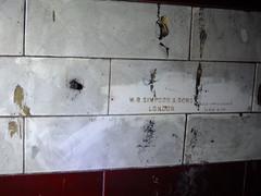 WB Simpson & Sons (failing_angel) Tags: 100816 london cityoflondon mayfair hiddenlondon undergroundstation ghoststation wbsimpsonsons downstreet railwayexecutivecommittee warcabinet cabinetwarrooms