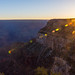 The moment the very first rays of the day entered the Grand Canyon