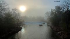 Abercorn fog_HDR (le Brooklands) Tags: abercorn barrage brume d7000 dam fog foggy hdr matin morning printemps québec sigma1224mm spring