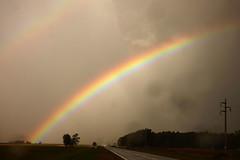 HORIZONTE (kchocachorro) Tags: horizonte landscape paisaje tormenta storm rainbow arcoiris nature naturaleza colours clouds colores nubes