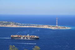 (Giovanni Panella) Tags: sky blue calabria strait stretto messina reggio aspromonte green photographer