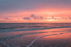 Zonsondergang (judithvanagthoven) Tags: zee zeeland natuur nature nederland holland canon 7dmarkii sigma 1770 kleuren zonsondergang water winter