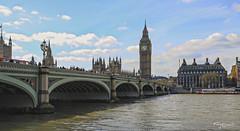 Puentes de Londres III. London Bridges III (Capuchinox) Tags: londres london puente bridge tamesis thames bigben rio river sky cielo canon