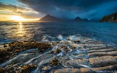 Elgol II (Wim Air) Tags: isle skye rain sun sea rocks scotland wimairat
