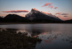 Rundle Mountain (JD~PHOTOGRAPHY) Tags: sunset dusk rundlemountain mountain banffnationalpark banff nature landscape mountainlandscape canon canon6d