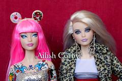same face mold, tokidoki & warhol (AilishCorby) Tags: barbie mattel doll muñeca collector collection coleccion coleccionista warhol titanic bella swan twilight crepusculo tokidoki