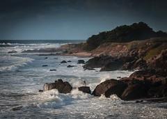 Pebble Beach at Bean Hollow No.1 (CDay DaytimeStudios w/1,000,000 views) Tags: beach beanhollowstatebeach brakers ca california californiasateparks cloud clouds cloudy cloudyday coastline pacificcoast pacificcoasthighway road sanmateocoast waves