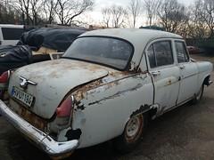 GAZ (ГАЗ) Volga 21 (geri.jokub) Tags: volgos volga russian russia car cars soviet union ussr abandoned rotten rusty rust forgotten parking lot fence