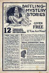 Weird Tales 12 (kevin63) Tags: lightner internetarchive magazine pulp fiction horror sciencefiction fantasy 1930s 30s thirties robertehoward hplovecraft clarkastonsmith magiccarpetmagazine advertisement