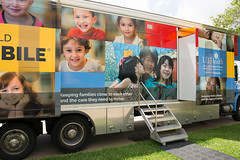 A closer look at the wrap design on the new Ronald McDonald Care Mobile™ (UTHealth) Tags: ronald mcdonald care mobile uthealth school dentistry houston texas children health dental