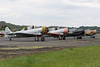 Harvard & Texan Line Up (QSY on-route) Tags: harvard texan line up gtdjn 313048 n726km gazsc 43 sc gbjst aj841 the radial trainer fly in v halfpenny green wolverhampton egbo 29042017