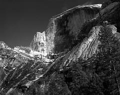 Yos 2017 HD Schneider (reed.john51) Tags: california yosemite halfdome snow rock ice granite winter schneider blackandwhite monochrome 4x5 calumet schneidersymmar150mm
