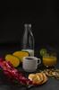 Breakfast (Laura Porta) Tags: food breakfast photography studio art creativecomposition fruit flowers