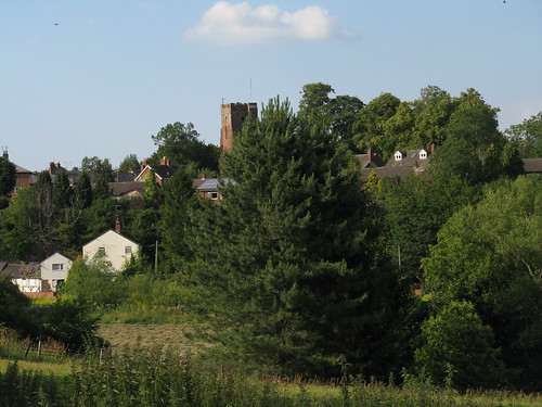 Holt: View of Farndon (Clwyd)