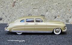 1949 Hudson Commodore 4dr Sedan (JCarnutz) Tags: 143scale diecast motorcityusa whitemetal 1949 hudson commodore