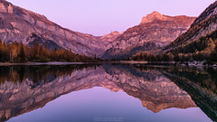 Twilight Colors (naturemomentsphotography) Tags: lac de derborence wallis valais switzerland schweiz reflections spiegelung naturemoments roland moser landschaftsfotografie landscape landscapes photography fotograf landschaft twilight dämmerung sunset alpenglühen alpenglow