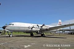 DOUGLAS C118A 51-17651 USAF MATS (shanairpic) Tags: museum military travis c118 douglasc118 usaf mats 5117651