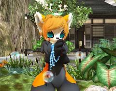 Prayer (Yukiterudiary) Tags: tamagosenbei gacha event garden red panda pokki avatar sl second life