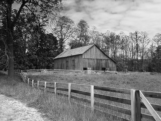 One of the barns...