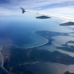 flying the blue dream i - ii (summer_57) Tags: flying airplane water blueplanet germany hiddensee rugen aerial sky travel europe lonelyplanet travelphotography scandinavia