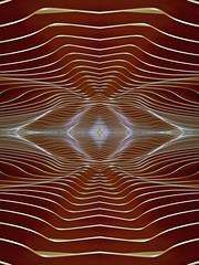 Martian Dunes (Ed Sax) Tags: mars düne braun beige design muster edsax art kunst kunstphotographie photokunst photoart pattern freundlich warm bionik lärmschutz wandelement wellenbrecher leise schallschutz schallschluckend