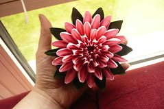 P1470045 (stephanie15121) Tags: origami lotus flower ❁ ❀