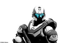 Spartan Athlon (Mitch Henry) Tags: figure halo spartan kotobukiya