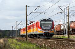 EN57-2041 (Łukasz Draheim) Tags: polska poland pociąg pkp kolej nikon d5200 bydgoszcz landscapes landscape scenerie scenery railway railroad rail train transport