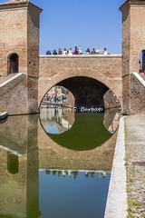 Comacchio (FE), 2017, Trepponti. (Fiore S. Barbato) Tags: italy emilia romagna comacchio valli laguna ponti trepponti