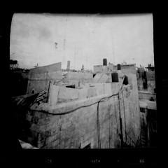 Jerusalem coffee can pinhole (anaguma shashin o toru) Tags: pinhole coffee can blackwhite stenope filmphotography jerusalem