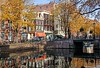 The Kloveniersburgwal Canal in Amsterdam, The Netherlands (PhotosToArtByMike) Tags: kloveniersburgwal amsterdam netherlands reflections oldcentre dutch holland centrum centrecity medieval canal nieuwmarkt amstelriver
